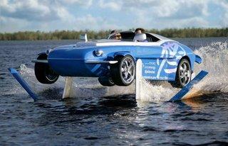 amphibian car