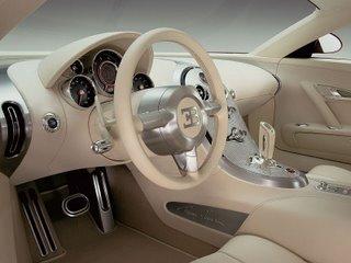 Bugatti Veyron 16.4 - interior