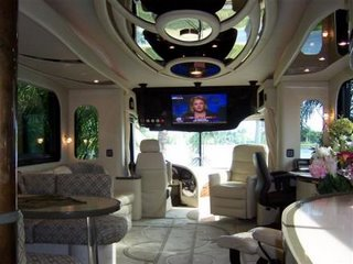 luxury bus 1 - interior