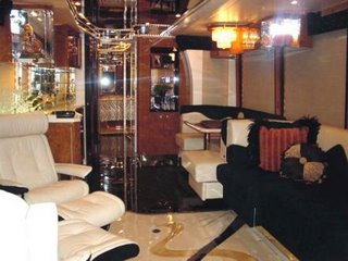 luxury bus 3 - interior
