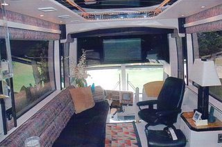 luxury bus 6 - interior