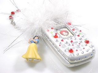 handset decoration Snow White
