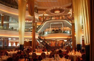 World's largest cruise - Explorer of The Seas : main hall