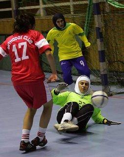 woman futsal