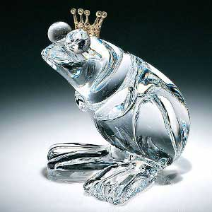 Glass art - Prince Frog