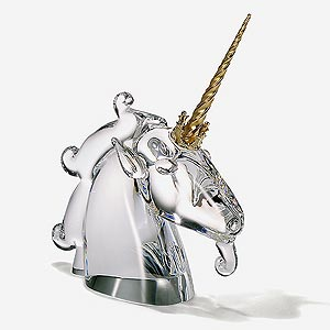 Glass art - Unicorn