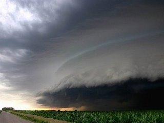 wild looking storm