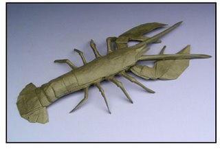 Origami - lobster