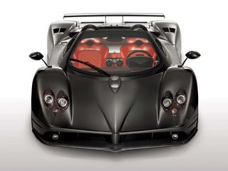2007 Pagani Zonda Roadster F - front view