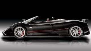2007 Pagani Zonda Roadster F - side view