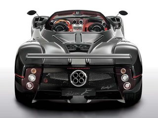 2007 Pagani Zonda Roadster F - back view