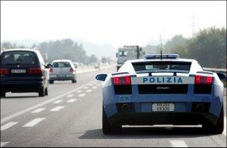 Police's Car on duty