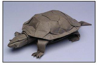 Origami - tortoise
