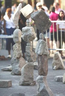 rock balancing complete