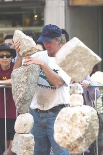 balancing the rocks