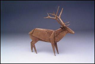 Origami - elk