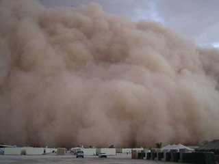this sands torm looks like similar to sandstorm in Dubai