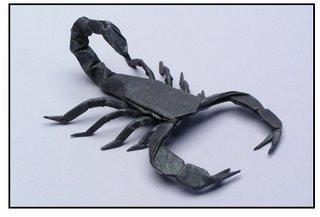 Origami - scorpion