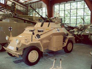 German military tank