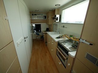 caravan's kitchen