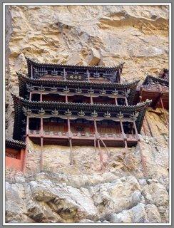 Hanging Temple. Stone temple pilot. Amazing building pictures