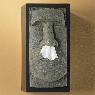 tissue box - nose