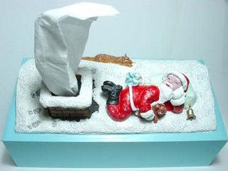 tissue box - santa claus