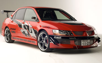 The Lancer Evolution (colloquially known as the