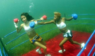 Underwater Boxing