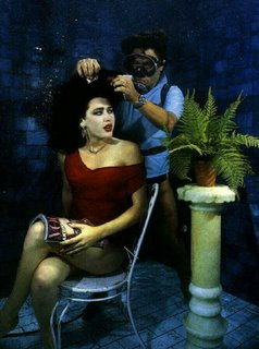 Underwater Hair Salon