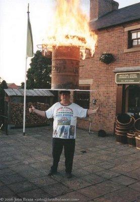 fire balancing. Quite risky