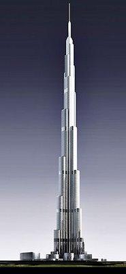 burj dubai building