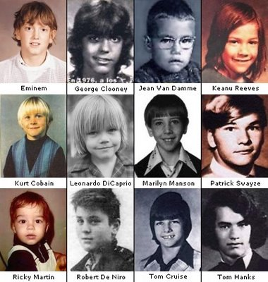 Look like some of them changed a little bit of their personality. For example Marilyn Manson