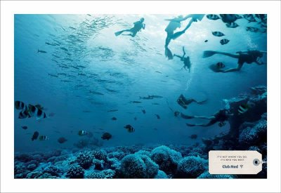 club med advertising