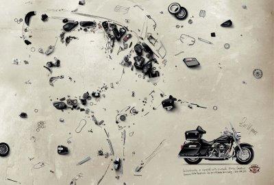 harley davidson print ads campaign
