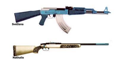 machine gun for ladies use