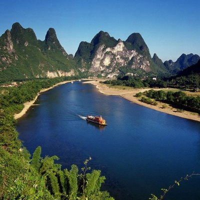 River in China
