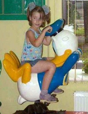 ride with donald duck