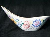 Freeform Vase with traditional decoration