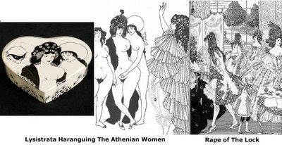 Beardsley box and illustrations