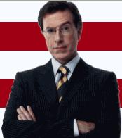 Blogger Stephen Colbert