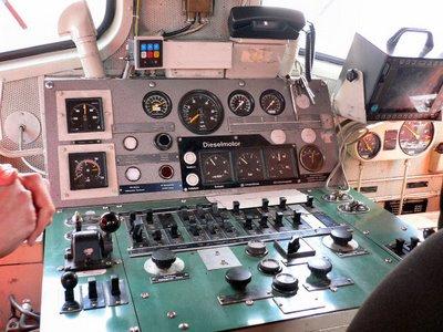 Cockpit Rangierlock