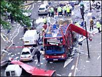 लंदन में विस्फोट