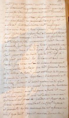 Mariage entre Honoré Arvel des Bouchiers et Rose Pascal du Seignus