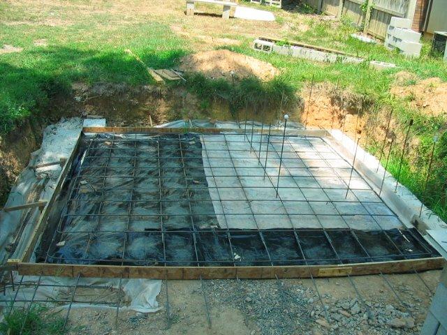 Building My House Basement Slab Rebar