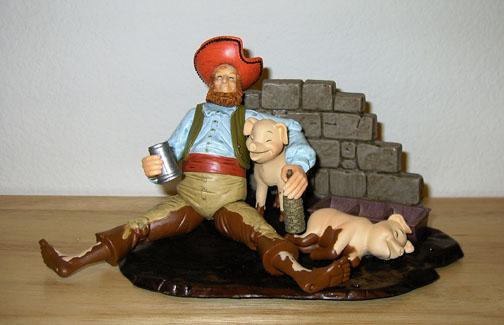 Les Figurines POTC Scalawag