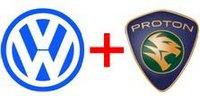 Proton Volkswagen partnership