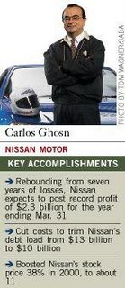 Carlos Ghosn Japanese Nissan