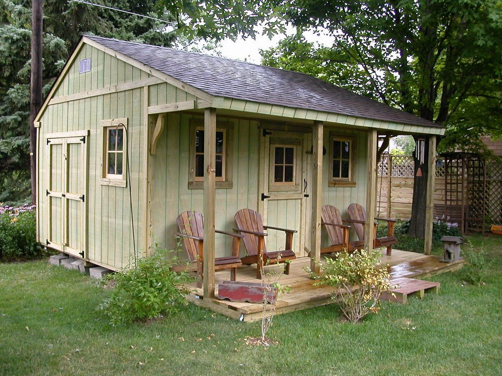 Old bob 39 s for Backyard cottage shed