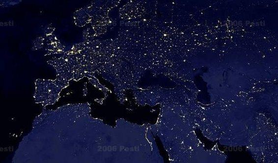 Google Maps nocturno